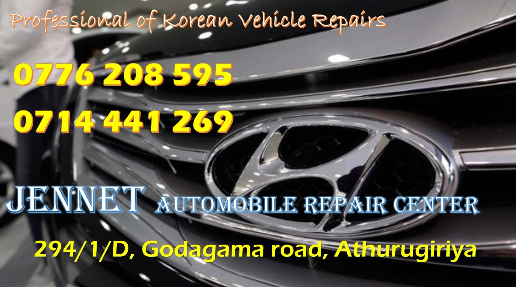JENNET Automobile Repair Center – Korean vehicle repair, Spare Parts